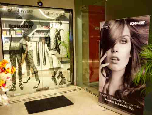 Kerastase Day at Toni & Guy South Ex 2, hosted by Ankita Shanker