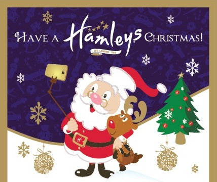 Christmas @ Hamleys creative