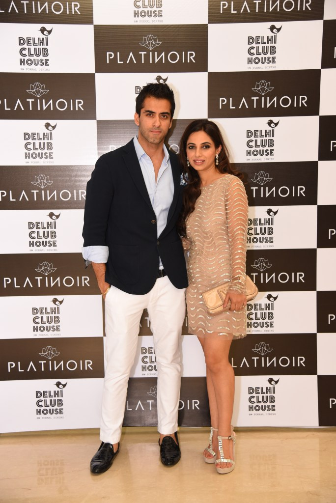 Designer Duo Mehak & Ashish at the launch of their brand Platinoir at Delhi Club House on March 1, 2016 (1)