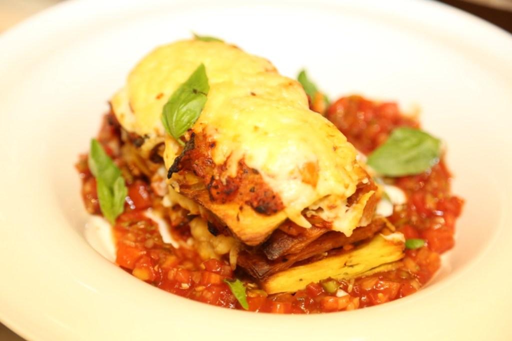 Paratha Lasagne