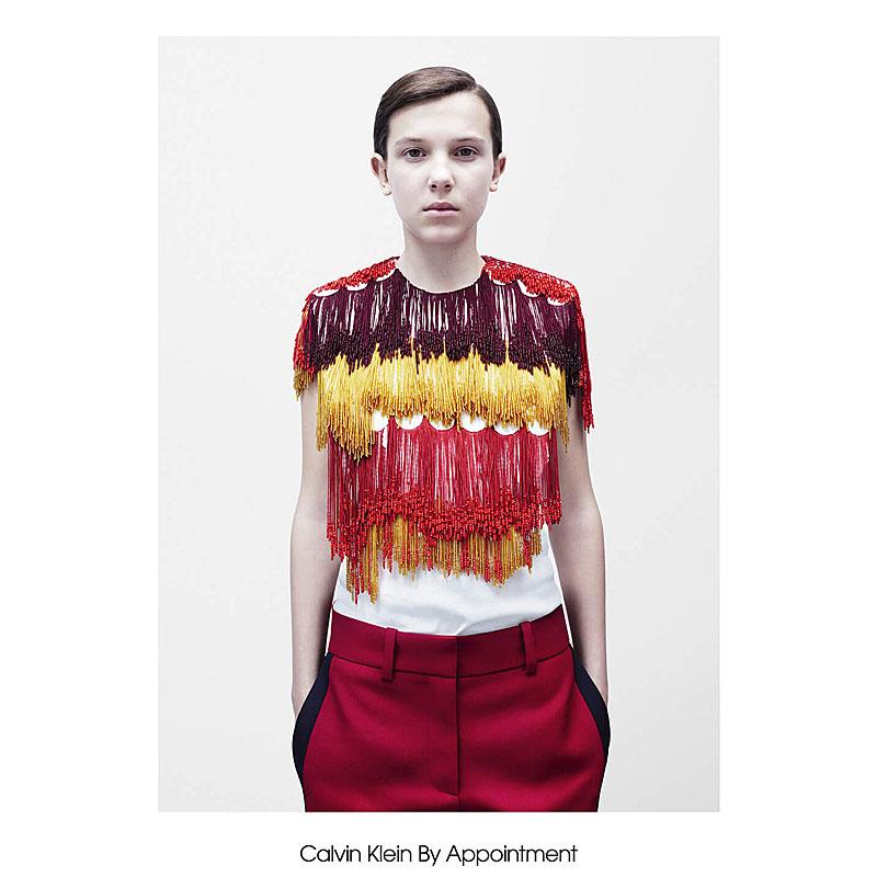 La primera colección del diseñador Raf Simons para Calvin Klein: una oda a la mujer