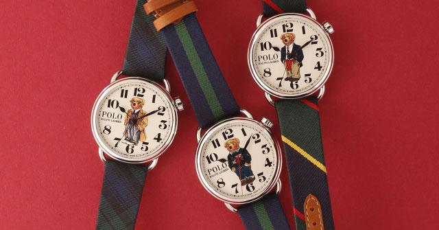 Ralph Lauren celebra su aniversario con una colección de relojes