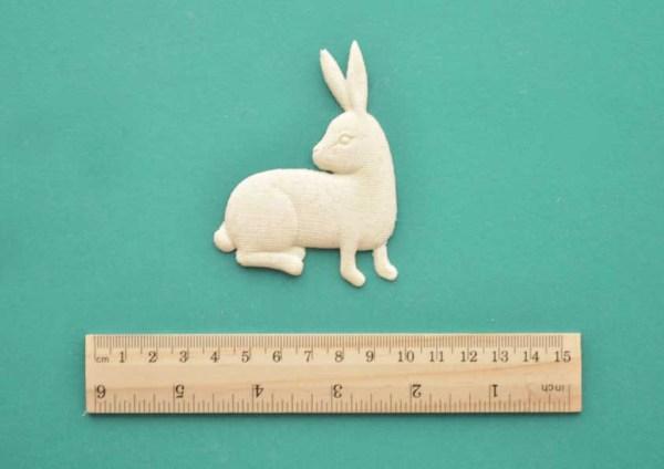Medieval Rabbit Resin Moulding