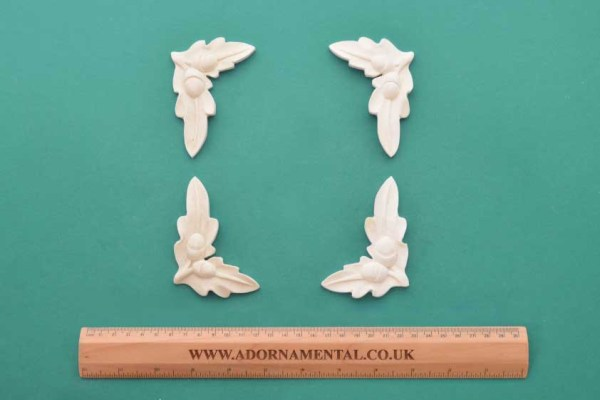 Acorn Corners Mouldings Set