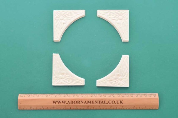 Traditional Corners - Set of 4 Resin Moulding