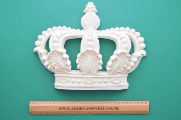 Large Ornamental Crown Resin Moulding