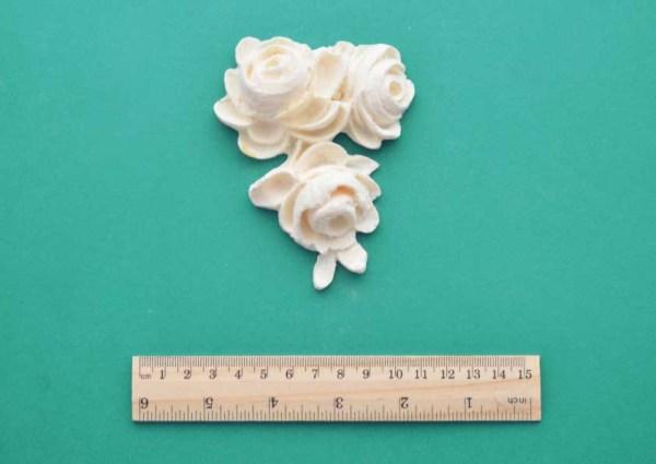 Rose Cluster Drop Moulding