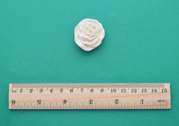 Small Flat Rose Moulding