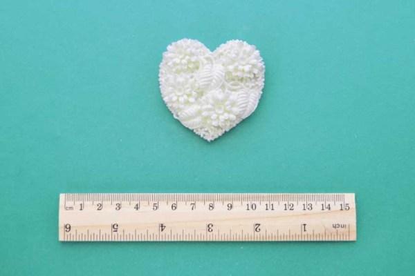 Floral Heart Resin Moulding