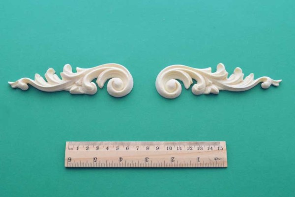 Baroque Scrolls Mouldings