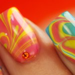 35 Gorgeous Water Marble Nails Water Marble Nail Ideas