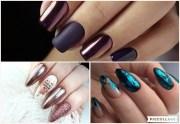 stunning metallic nails