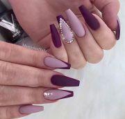 matte nails 40 gorgeous