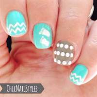 Baby Boy Nursery Nails - Chic Nail Styles