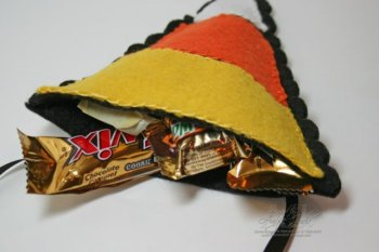 Candy Corn Treat Bag Part Two