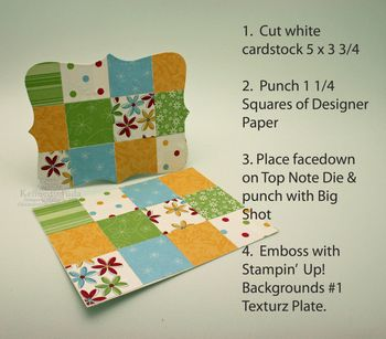 Top Note Quilt instructions