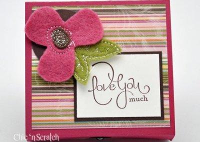 Sweet Pea Candy Box