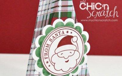 12 Days of Christmas #2 Santa Triangle Box