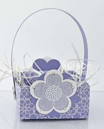 Posy Punch Box purple