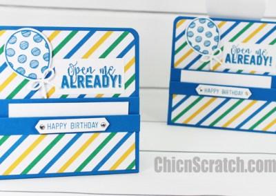 Balloon Adventures Gift Card Holder