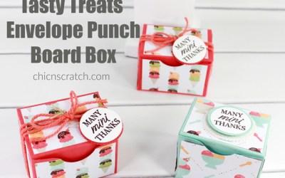Tasty Treats Envelope Punch Board Box