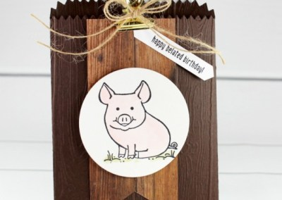 This Little Piggy Mini Treat Bag
