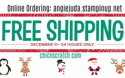 Last call for FREE shipping!