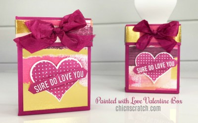 Painted with Love Valentine Box