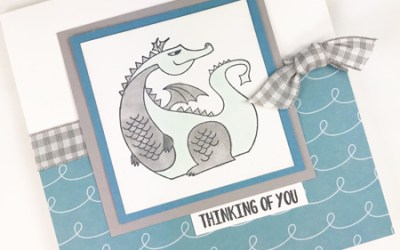Magical Day Thinking of You Card
