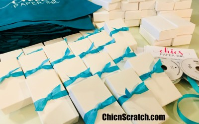 Chics Paper Ink and Adhesive Totes