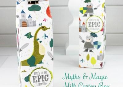 Myths & Magic Milk Carton Box