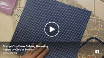 Unboxing Video New Stampin' Up! Catalog