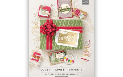 Stampin' UP! Holiday Catalog 2018