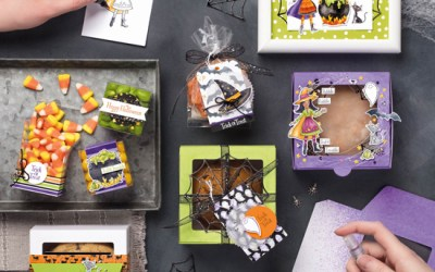 Cauldron Bubble Stamp Kit of the Month