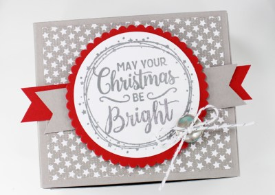 How to Make a Christmas Box with Making Christmas Bright