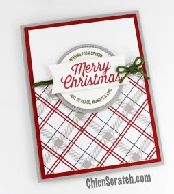 Farmhouse Christmas Stamp Kit of the Month
