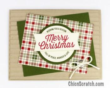 Farmhouse Christmas – Stamp Kit Card 3