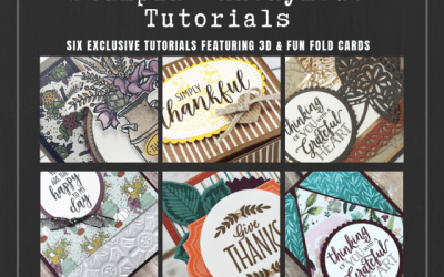 Stampin' Anonymous Tutorial October 2018