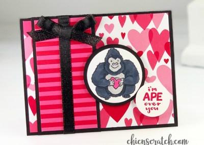 Ape Over You Card