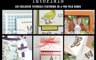Stampin' Anonymous Tutorials March 2019