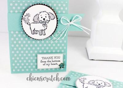 Gift Card Holder with Notecard Envelope