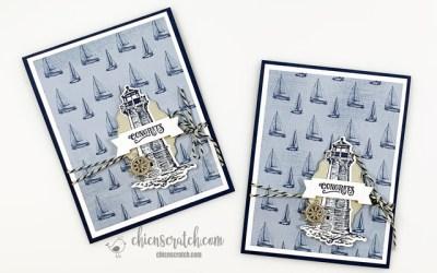 Come Sail Away Congrats Card