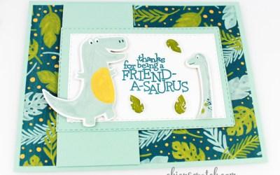 Dino Days Flap Card