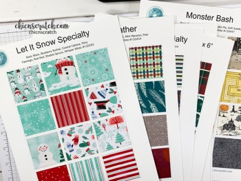 Holiday Catalog Paper Charts and Paper Shares