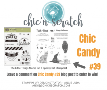 Chic Candy 39 + Facebook Live
