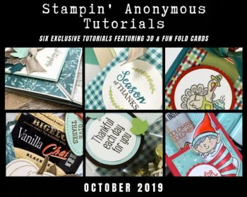 Stampin' Anonymous October 2019