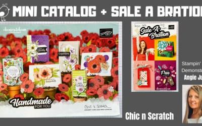 Mini Catalog + Sale a Bration