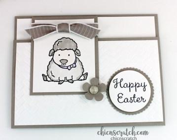 Welcome Easter Fun Fold Card