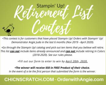 Retirement List Contest