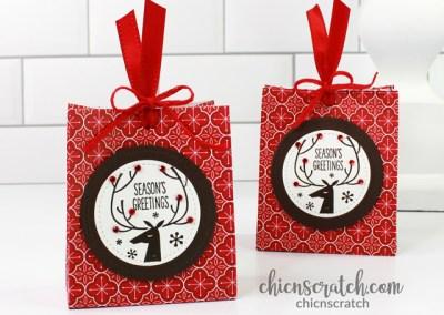 Simple Christmas Treat Bag